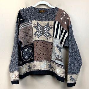 Vintage 1983 Eddie Bauer Icelandic wool sweater s